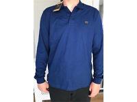 Paul & shark long sleeve polo brand new with tags size L colour royal