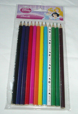 60 pcs Disney Princesses Wooden Coloring Pencil Party Bag Filler School Supply](Hello Kitty Princess Party Supplies)