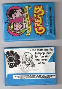 1978 TOPPS GREASE THE MOVIE SERIES 2, UNOPENED TRADING CARD PACK, JOHN TRAVOLTA