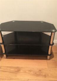 TV stand - black - £15