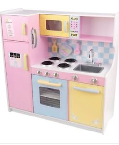 Large kitchen set with food