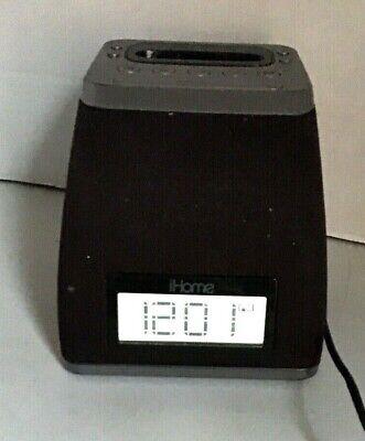 iHome Alarm Clock iPod Charger Docking Station- Model Ih110 Speaker W/ FM Radio
