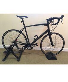 Specialised Alez Bike plus Turbo Trainer