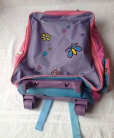 Girls Suitcase Backpack