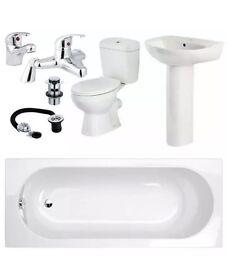 Bargain bathroom suite