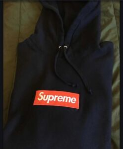 Supreme Box Logo Navy
