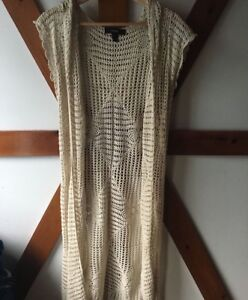 Knitted Swim Cover Up