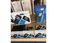 Nokia 105 single sim £20 brand new, used £15, dual sim brand new £25 each