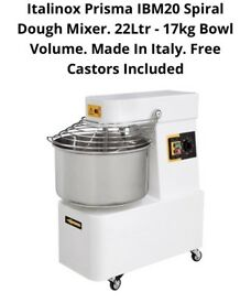 Commercial dough mixer catering resturant dough roller Takeway pizza