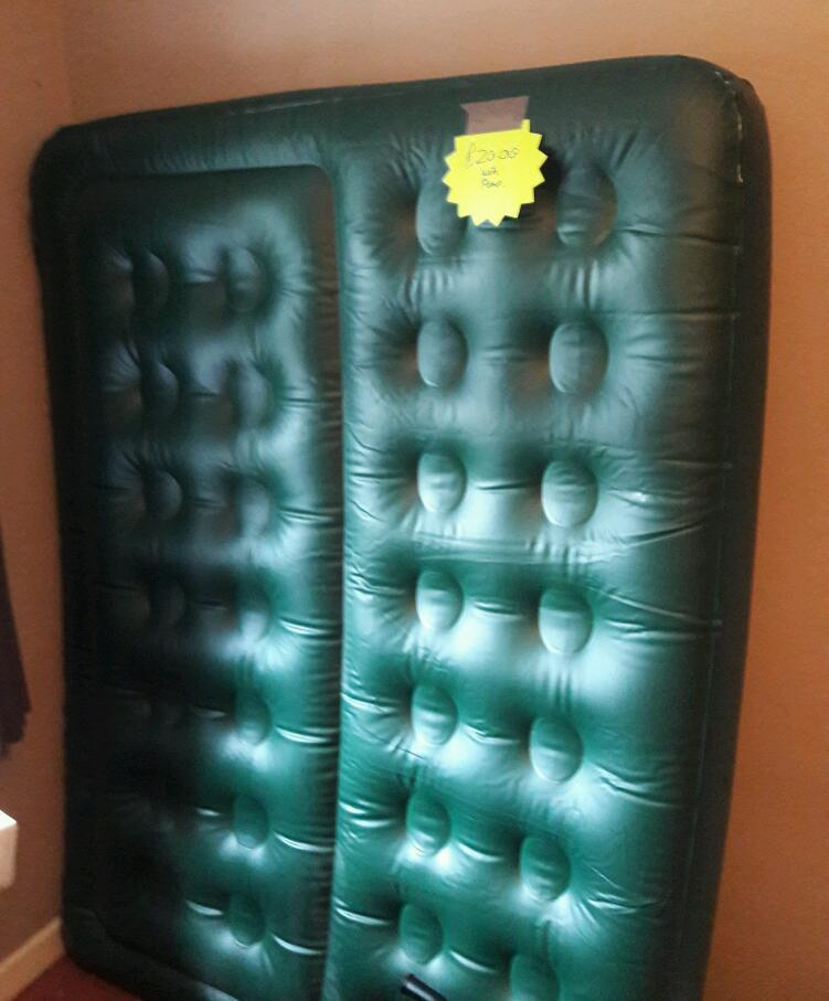 Double Blow Up Bed In Christchurch Dorset Gumtree