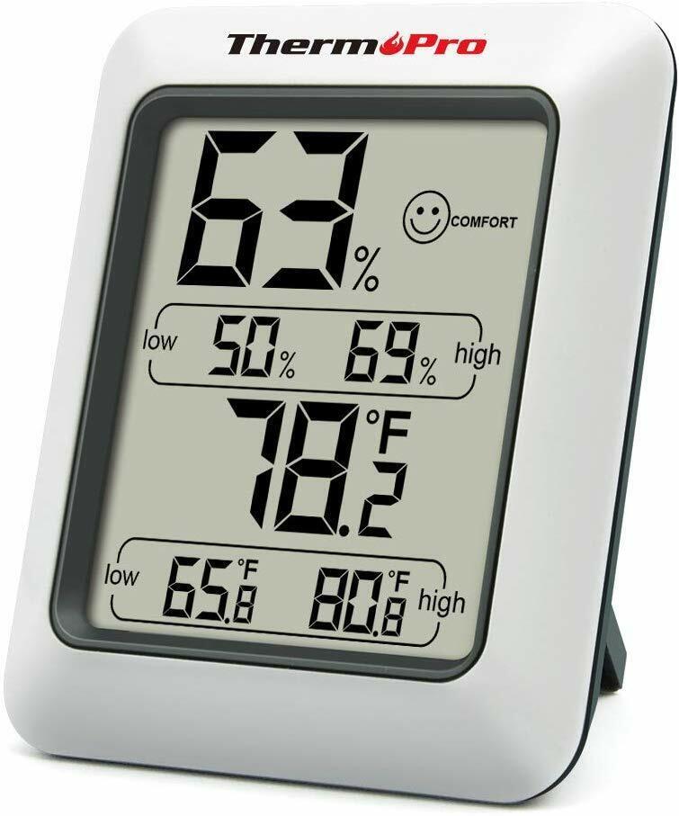 Mini LCD Digital Indoor Hygrometer Thermometer Rome Temperat