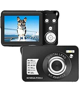 Digital Camera 1080P Full HD 30 Mega Pixels Vlogging Camera 2.7 Inch...
