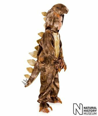 KIDS CHILDRENS BOYS CHILD STEGOSAURUS DINOSAUR DINO FANCY DRESS COSTUME  AGE - Stegosaurus Kostüm