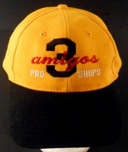 Three Amigos Pro Shop Lady Lake Florida FL Bowling Strapback Cap Hat