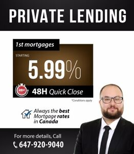 BEST PRIVATE LENDING RATES POSSIBLE