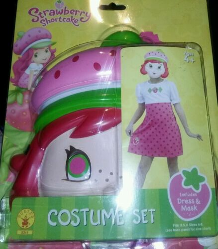 Strawberry Shortcake Toddler Child Halloween Costume RUBIES