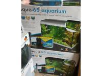 Two new in the box aqurium tanks compete setup
