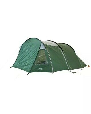 Trespass 6 Man  Tunnel Tent 2 rooms Large Family Tent