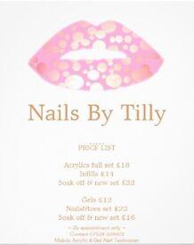 Mobile Acrylic &a Gel Nail Technician