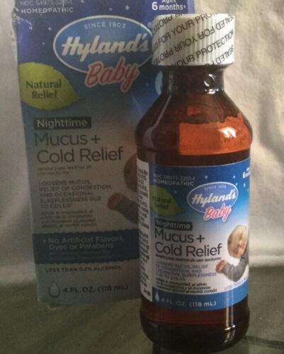 Hyland's Baby Nighttime Mucus + Cold Relief 4 fl oz