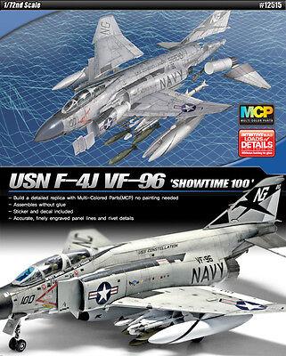 "ACADEMY 1/72nd SCALE USN F-4J PHANTOM ""SHOWTIME 100""  # 12515"