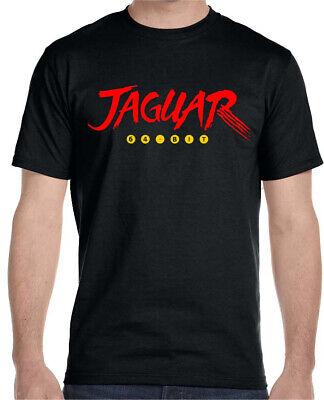 Atari Jaguar Video Game Mens T-Shirt BLACK SIZE 3XL