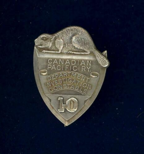 Obsolete-Canadian Pacific Railway Investigation Constable c1920s-1950s. ORIGINAL