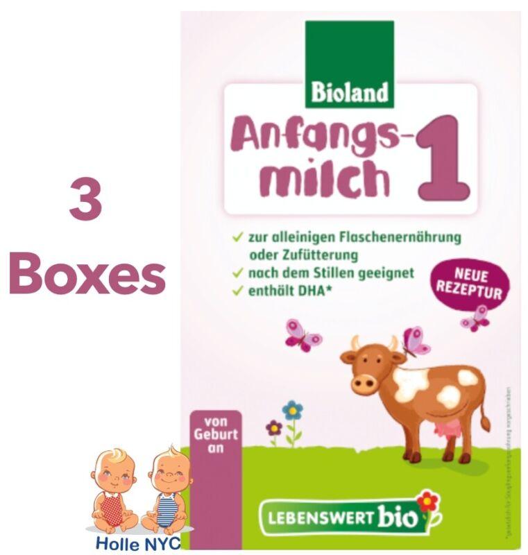 Holle Lebenswert Stage 1 Organic Baby Formula 3 Boxes 500g Free Shipping
