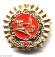 Olimpiadi Mosca 1980 Cccp Spilla Badge Metallo Unione Sovietica Russia - union - ebay.it