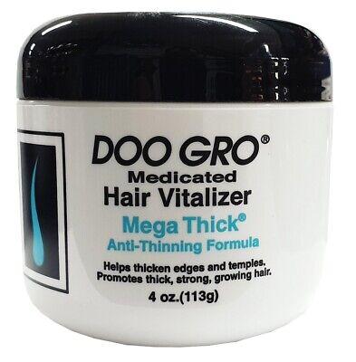 Doo Gro Medicated Hair Vitalizer Mega Thick Anti Thinning Formula 113g
