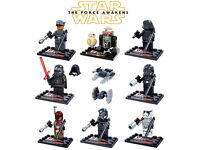 (NEW) x10 STAR WARS: The Force Awakens Mini-Figure Set (LEGO Compatible, FREE Delivery))