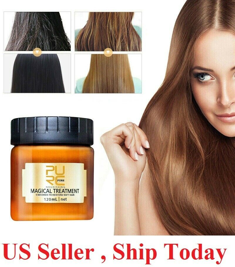 PURC Magical Treatment Mask 5 Seconds Repairs Damage Restore Soft Hair 60 120mL Hair Care & Styling