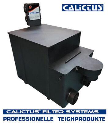Trommelfilter, automatischer Vorfilter Calictus, 20m³ incl.Amalgam UVC, gepumpt