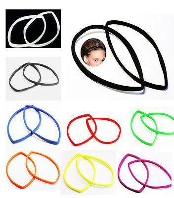 Haarband Haarschmuck  lycra stretch Bänder  sport Stirnband FITNESS -1Stück*