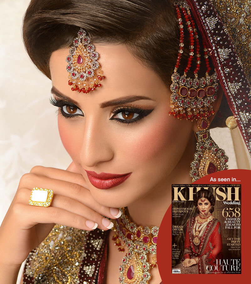 Bridal Mehndi Leicester : Pro makeup artist hair stylist as seen in khush