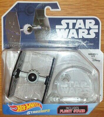 Hot Wheels Star Wars Starships Original Concept Series Tie Figher