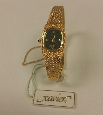 Xavier Genuine Diamond Masterpiece Swiss Parts Wristwatch  249 95 Retail