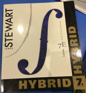 Calculus Early Transcendentals 7th Edition Hybrid