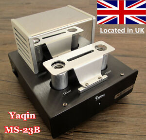 YAQIN MS-23B Tube Phono Stage Pre-AMP MM RIAA Turntable Stereo Pre-Amplifier UK