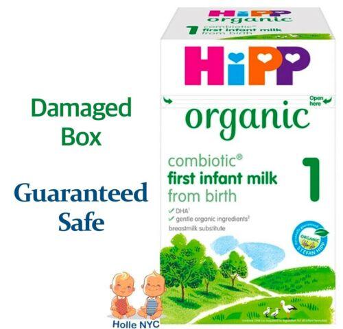 HiPP UK Stage 1 Organic Combiotic Milk Formula Damaged Box 800g Free Shipping