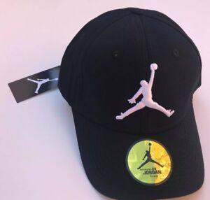 Black White Jordan Original Baseball Cap One Size Unisex Adjustable Free P P 29c3e56364