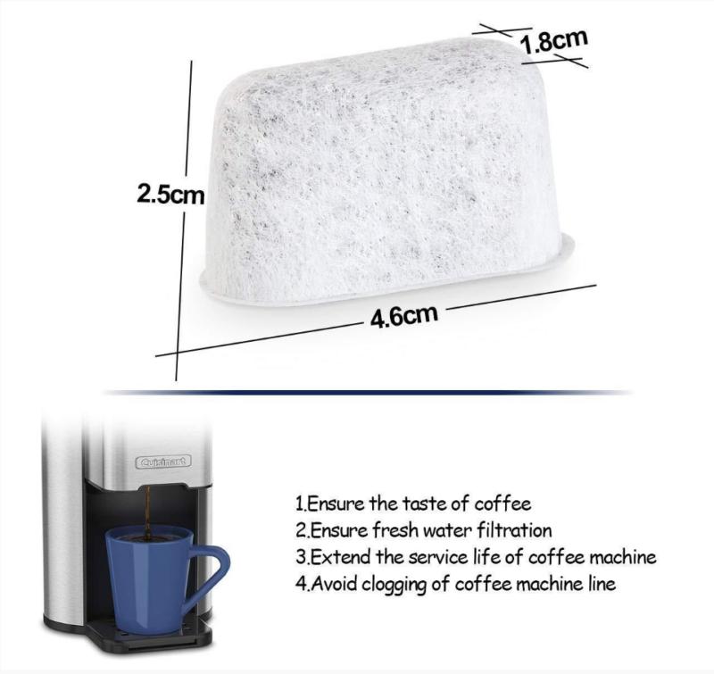 Unimat Kalkfilter 4er Set Ersatzfilter geeignet für Beem Domo AEG Kalk-Filter