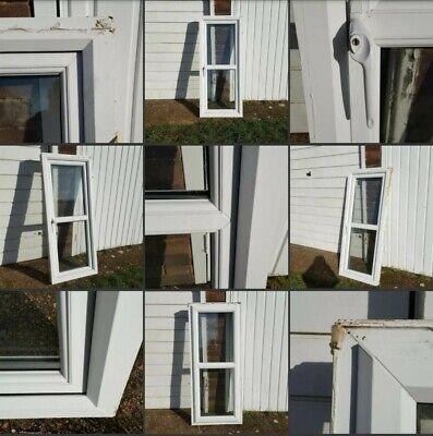 *Used* Lovely Little Long Opening▪UPVC WINDOW▪White Frame~Home Spares~DiY~No Key