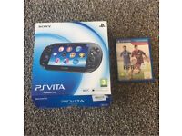 PS vita including Fifa 15 game