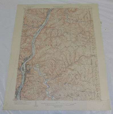 1823 WV MAP BRAXTON UPSHUR WEBSTER PLEASANTS CABELL LINCOLN MORGAN GILMER COUNTY
