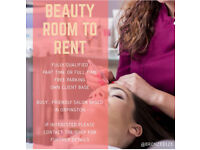Nail bar & beauty room to rent