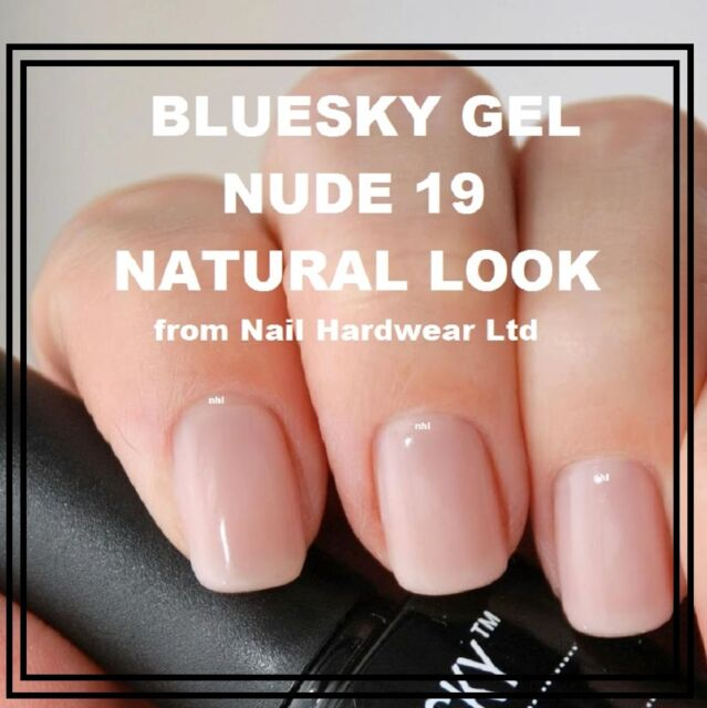 Bluesky Nd19 Nude 19 UV LED Soak off GEL Classic Natural French ...