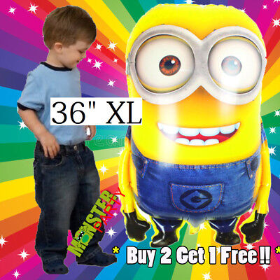 3 FEET Giant Minion Birthday Party Balloons Balloon decoration Despicable Me](Giant Minion)