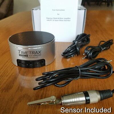Timetrax Model 60 Watch Clock Beat Amplifier Diagnostic Tool  w/ PICKUP Sensor