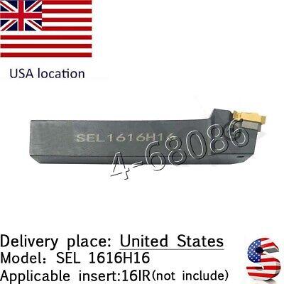 Usa Shipping Ca- Sel 1616h16 Lathe Threding Turning Tool For 16ir Thread Insert